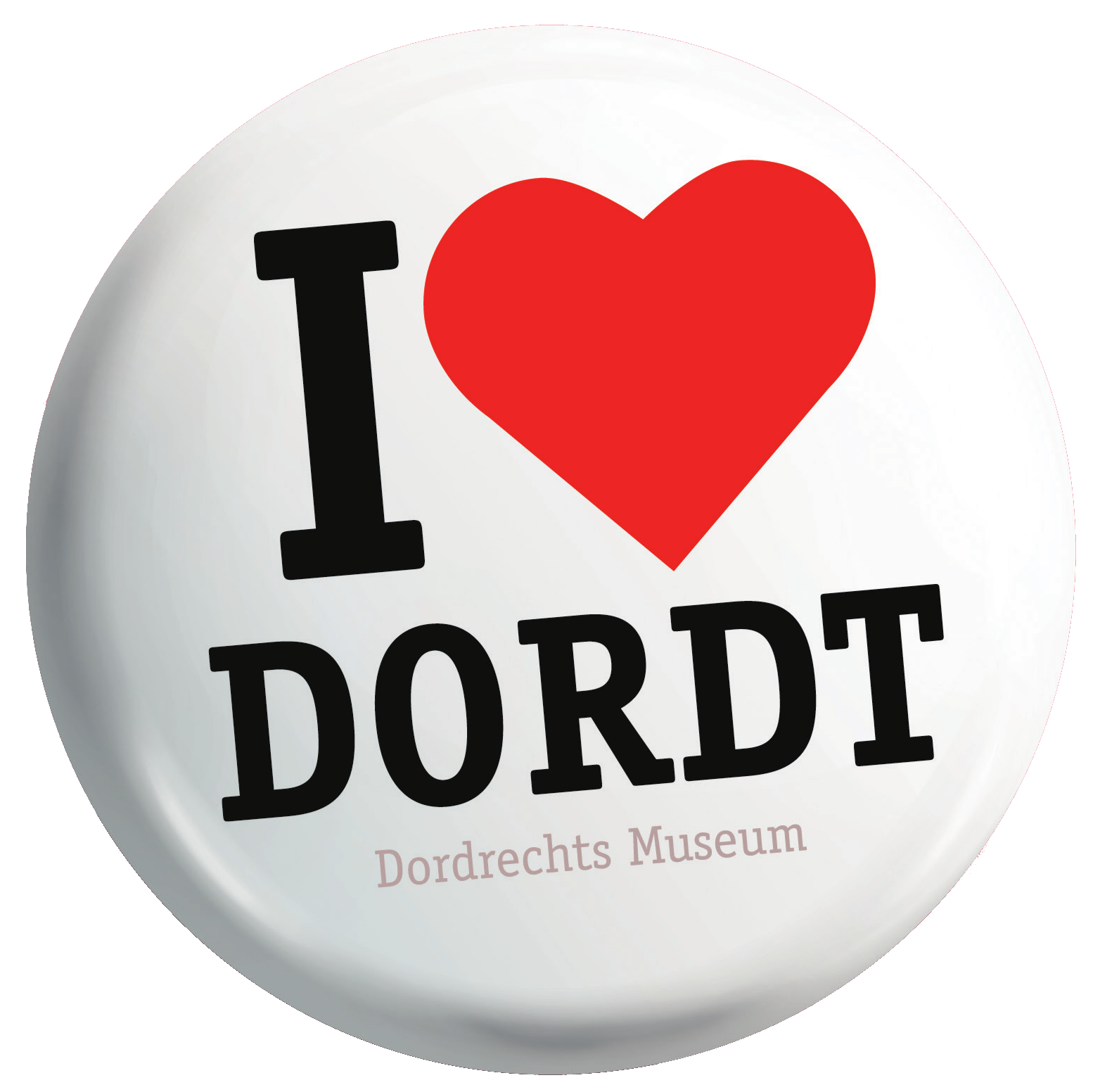 Button I love Dordt